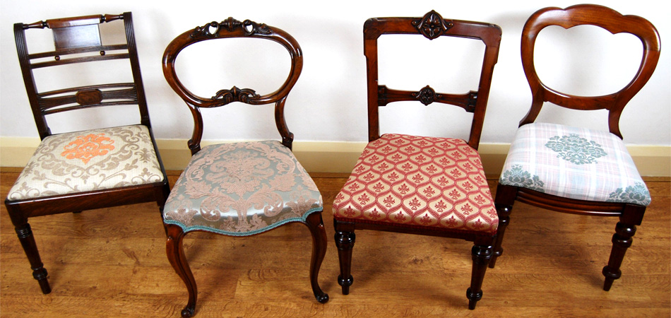 """We have various sets of dining chairs in stock and regularly add new items. Please see our stock for more details."""